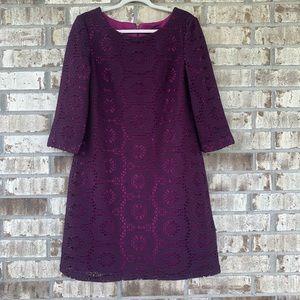 Madison Leigh purple dress size 14